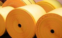 Plastic rolls royalty free stock photos
