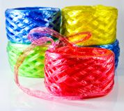 Plastic rope royalty free stock photos