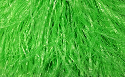 Plastic rope for background. Is green color Royalty Free Stock Image