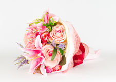 Plastic Rose Bouquet Royalty Free Stock Images