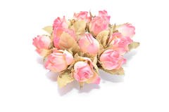 Plastic roses Stock Image
