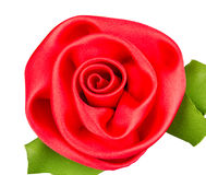 Plastic roses with leaf Royalty Free Stock Images