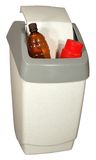Plastic rubbish bin Stock Photos