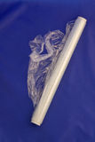 plastic rullomslag för plastfolie Royaltyfri Fotografi