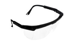 Plastic safety goggles Stock Image