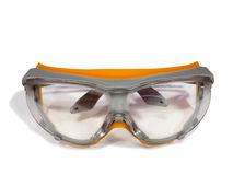 Plastic safety goggles stock photography