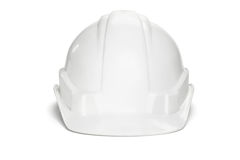 Plastic safety helmet Royalty Free Stock Photos