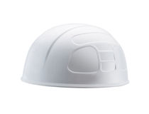 Plastic safety helmet Stock Photo