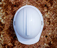 Plastic safety helmet Stock Photography