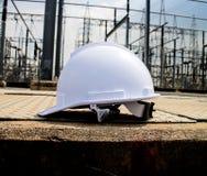 Plastic safety helmet Royalty Free Stock Photography