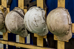 Plastic safety helmet Royalty Free Stock Image