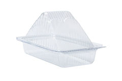 Plastic Sandwich Box Stock Images
