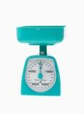 plastic scale för kök royaltyfri bild