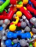 Plastic schakelaars Stock Foto