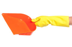 Plastic scoop Stock Image