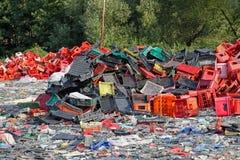 Plastic scrap Stock Photography