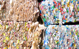 Plastic scrap Royalty Free Stock Images