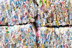 Plastic scrap Stock Image
