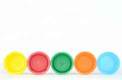 Plastic screw caps Royalty Free Stock Photography
