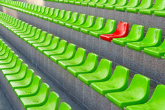 Plastic seats Stock Photography