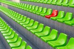 Plastic seats Stock Photography