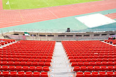 Plastic seats Stock Photo