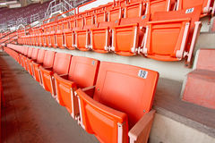 Plastic seats Stock Image