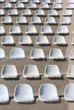 Plastic seats Stock Photos