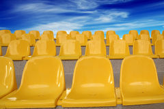 Plastic seats Royalty Free Stock Images