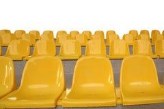 Plastic seats Royalty Free Stock Photos