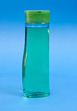 Plastic shampoo bottle Royalty Free Stock Photography