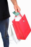 Plastic shopper Stock Photos