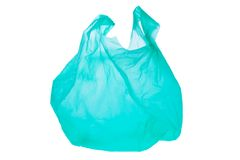 Plastic shopping bag Royalty Free Stock Photos