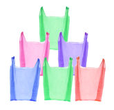 Plastic Shopping Bags Stock Photos