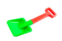 Plastic shovel Stock Images
