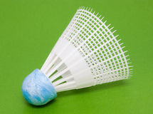 Plastic shuttlecock for badminton Royalty Free Stock Photography