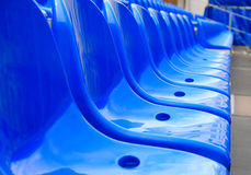 Plastic sittings Royalty Free Stock Photo