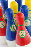 Plastic skittles toy detail Royalty Free Stock Images