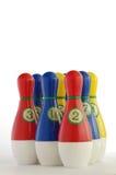 Plastic skittles toy Royalty Free Stock Photos