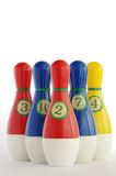 Plastic skittles toy 2 Stock Images