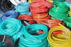 Plastic slangen Royalty-vrije Stock Afbeeldingen