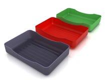 Plastic soap dish  �4 Royalty Free Stock Photos