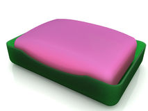 Plastic soap dish  �6 Stock Photo