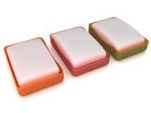 Plastic soap dish  �9 Royalty Free Stock Photo