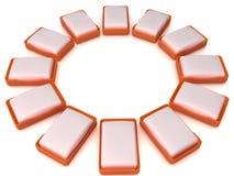 Plastic soap dish  �12 Stock Image