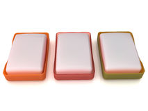 Plastic soap dish  №10 Royalty Free Stock Images