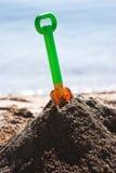 Plastic spade Royalty Free Stock Image