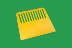 Plastic spatula. Royalty Free Stock Photos