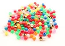Plastic spheresbakgrund Royaltyfri Bild