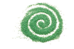 Plastic spiral Royalty Free Stock Photography